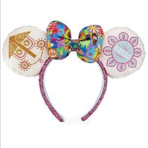 Disney Parks It's A Small World Minnie Ears